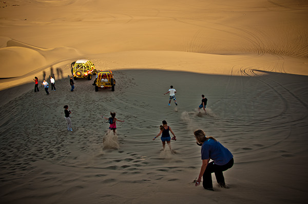 Desierto de Huacachina en Ica